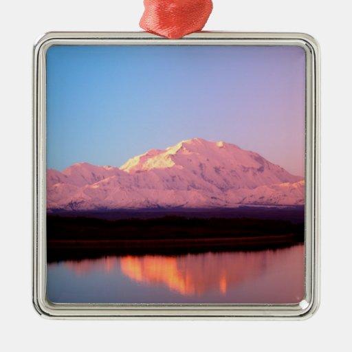 Alaska, parque nacional de Denali, el monte McKinl Adorno De Reyes