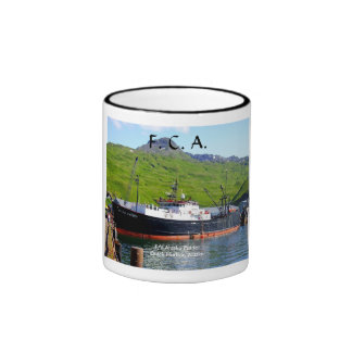 Alaska Patriot, F. C. A. Longliner in Dutch Harbor Ringer Mug
