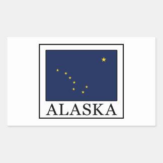 Alaska Pegatina Rectangular