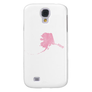 Alaska Pink Vintage Grunge Galaxy S4 Case