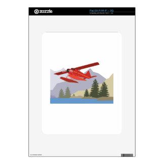 Alaska Plane iPad Skin