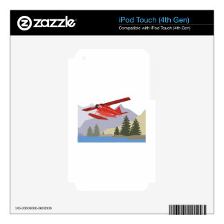 Alaska Plane Skins For iPod Touch 4G