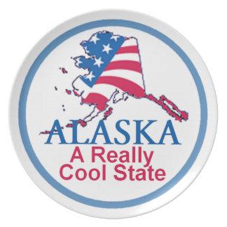 ALASKA PARTY PLATE