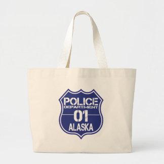 Alaska Police Department Shield 01 Jumbo Tote Bag