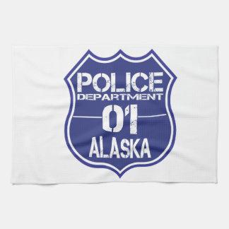 Alaska Police Department Shield 01 Hand Towel