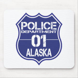 Alaska Police Department Shield 01 Mouse Pad