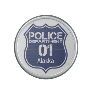 Alaska Police Department Shield 01 Speaker