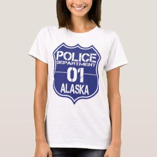 Alaska Police Department Shield 01 T-Shirt