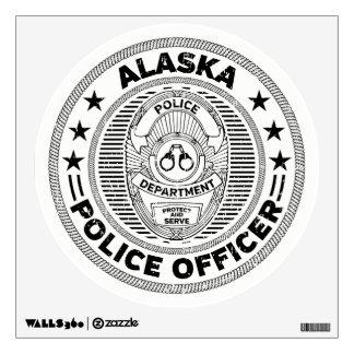 Alaska Police Officer Wall Sticker