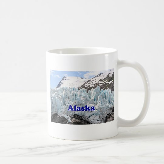 Alaska: Portage Glacier, USA (caption) Coffee Mug