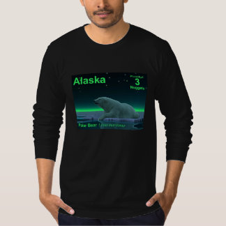 Alaska Postage - Ice Edge Polar Bear T-Shirt