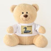 Alaska Postage - Soapstone Eider Teddy Bear