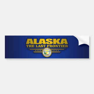 Alaska Pride Bumper Sticker