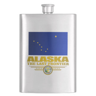 Alaska Pride Hip Flask