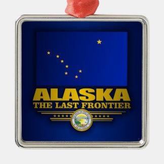 Alaska Pride Metal Ornament