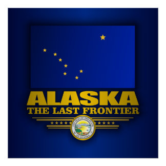 Alaska Pride Poster