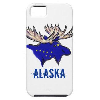 Alaska pride state flag elk artistic iphone case iPhone 5 cases