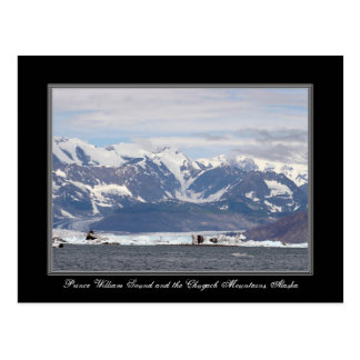 Alaska Prince William Sound Chugach Mountain Card