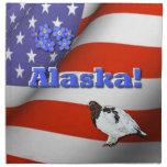 Alaska Printed Napkin