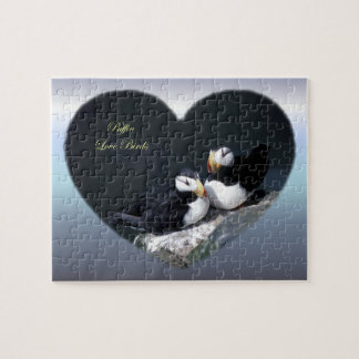 Alaska Puffins Feathered Colorful Birds Puzzle