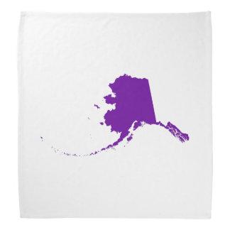 Alaska púrpura violeta bandana