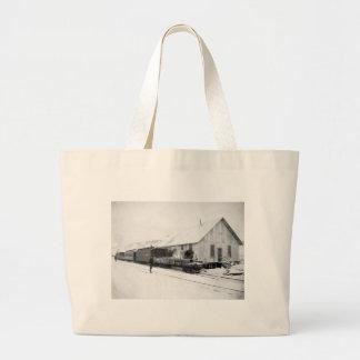 Alaska Railroad, 1916 Large Tote Bag