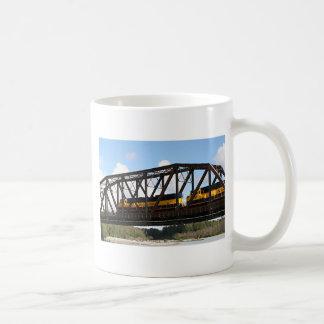 Alaska Railroad locomotive engine & bridge Mugs