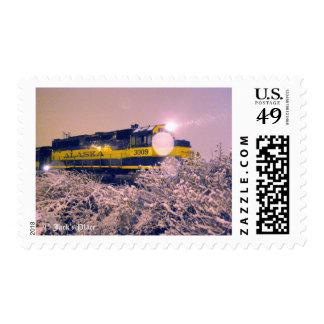 Alaska Railroad Postage