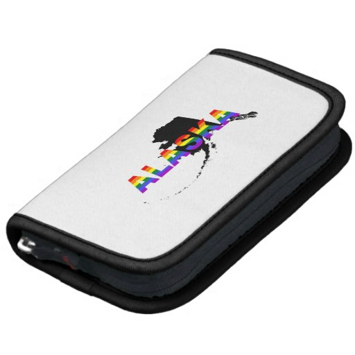 Alaska Rainbow Stripes Planner