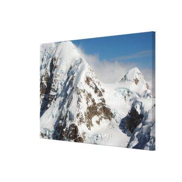 franwestphotography Alaska Range mountains, Alaska, USA Canvas Print