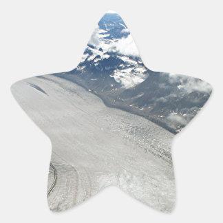 Alaska Range mountains & glacier, USA Sticker