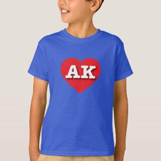 Alaska red heart - Big Love T-Shirt
