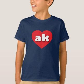 Alaska red heart - mini love T-Shirt
