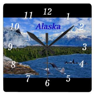 Alaska Reloj Cuadrado