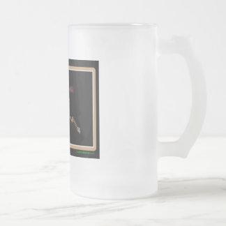 Alaska Rig Up Camo Frosted Glass Beer Mug