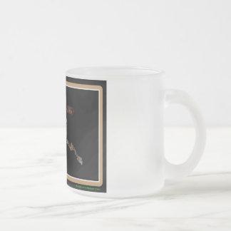 Alaska Rig Up Camo Frosted Glass Coffee Mug