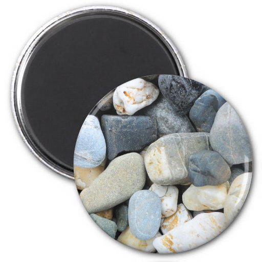 alaska rocks 2 inch round magnet