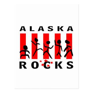 Alaska Rocks Postcard