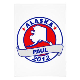 Alaska Ron Paul Custom Invites