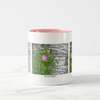 Alaska Rose #12 Two-Tone Coffee Mug
