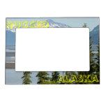 Alaska rugosa marcos magnéticos para fotos