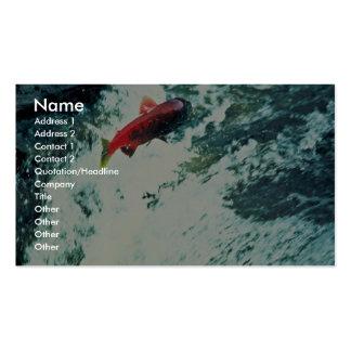 Alaska Salmon Business Card