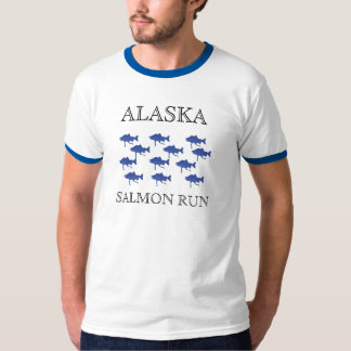ALASKA SALMON RUN 2010 T-Shirt
