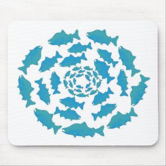 Alaska Salmon Wear Mouse Pad