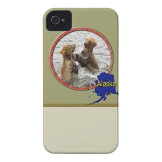 Alaska salvaje carcasa para iPhone 4 de Case-Mate