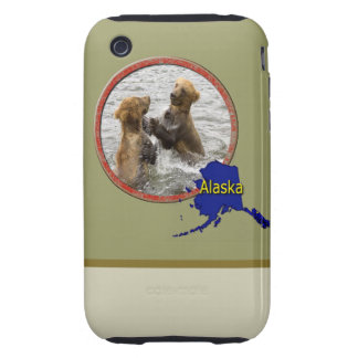 Alaska salvaje funda resistente para iPhone 3