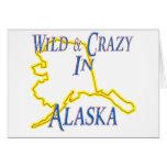 Alaska - salvaje y loca felicitacion