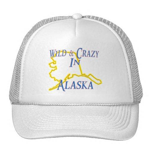 Alaska - salvaje y loca gorras de camionero