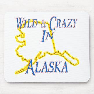 Alaska - salvaje y loca alfombrilla de ratones