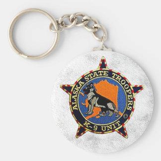 Alaska Sate Troopers Keychain